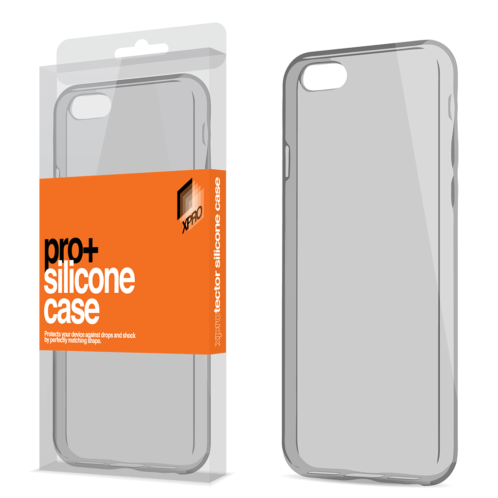 1d6c3f57bf iPhone 7/8 DUST AND CAMERA PROTECTOR SILICONE CASE SPACE GREY ULTRA SLIM  0.33MM Case+ PRO e. Zoom images