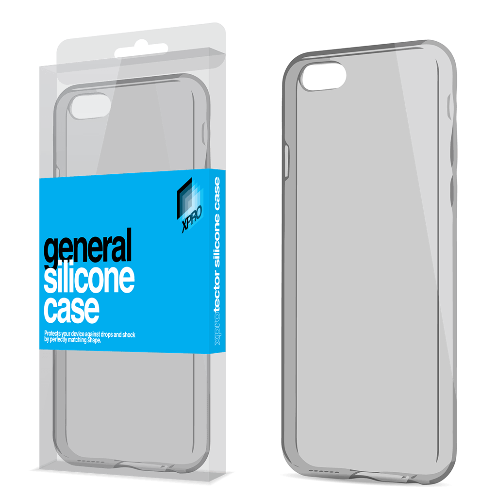 detailed look f9ae2 8df66 iPhone 7/8 Plus SILICONE CASE SPACE GREY ULTRA SLIM 0.33 MM XPRO Case
