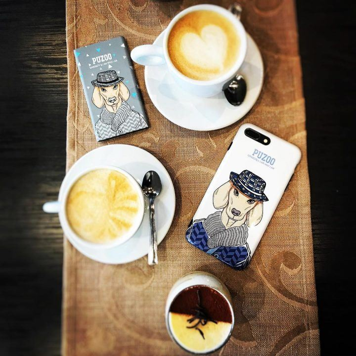 powerbank with dog art puzoo